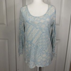 Lucky Brand Soft Lightweight Top W Long Sleeves M